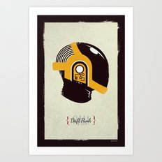 Daft Punk - RAM (Guy-Manuel) Art Print