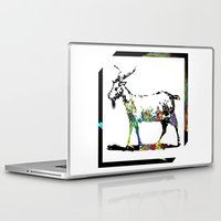 goat Laptop & iPad Skins featuring Goat by LoRo  Art & Pictures