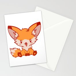 """""""I Just Really Like Foxes Ok?"""" Unique Illustration Of A Fox For Animal Lovers T-shirt Lobo Hyena Stationery Cards"""