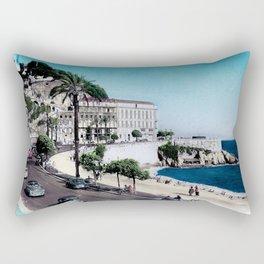 1950's Vintage Nice France Rectangular Pillow