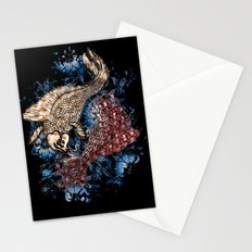 GOLDEN PISCES Stationery Cards