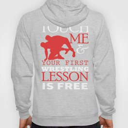 Funny Wrestling Coach Sports Graphic Hoody