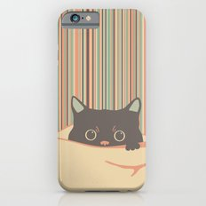 Kitty in the blanket Slim Case iPhone 6s