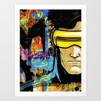 cyclops Art Prints featuring Cyclops by Zoé Rikardo