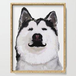 Husky Dog Serving Tray