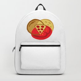 Pizza Venn Diagram Backpack