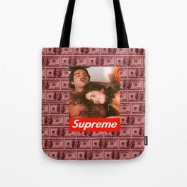Supreme Ron Jeremy Blood Money Tote Bag