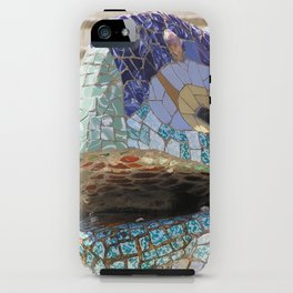 Gaudi's Lizard iPhone Case