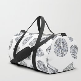 Diamonds pattern Duffle Bag