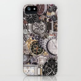 It's About Time iPhone Case