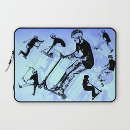 It's All About The Scooter! - Scooter Tricks Laptop Sleeve