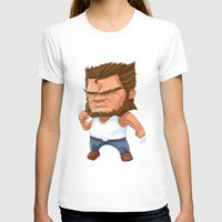 mini T-shirts featuring Mini Wolverine by mengopoo