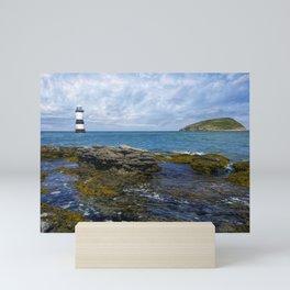 Penmon Lighthouse Mini Art Print