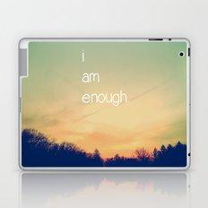 I Am Enough Laptop & iPad Skin