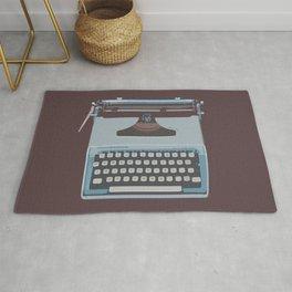 Remington Typewriter Rug