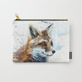 Fox watercolor Carry-All Pouch