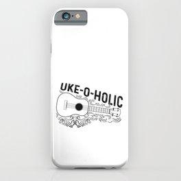 Hawaiian Ukulele Uke Uke-o-holic iPhone Case