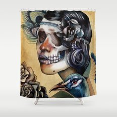 Queen of Indulgence  Shower Curtain