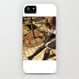 Clockwork lady iPhone Case