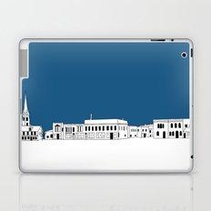 Whitewater Wisconsin Cityscape Illustration Cartoon Laptop & iPad Skin