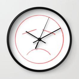 Unsmile Wall Clock