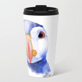 puffin Metal Travel Mug