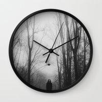 hat Wall Clocks featuring hat by MartaSyrko