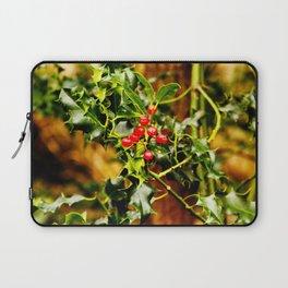 Winter Holly Laptop Sleeve