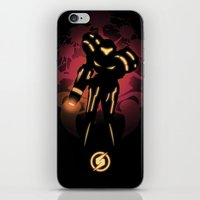 metroid iPhone & iPod Skins featuring Metroid by Casa del Kables