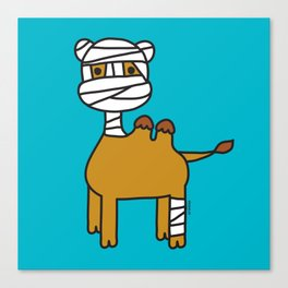 Bandage Camel Canvas Print