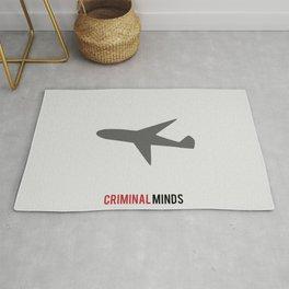 Criminal Minds - Minimalist Rug