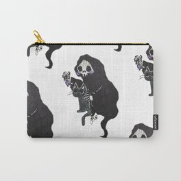 Death and Curiosity Carry-All Pouch