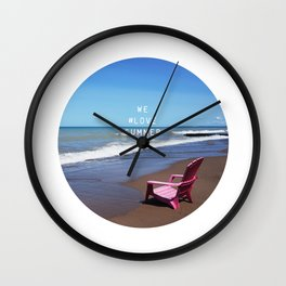 We #LOVE Summer - Sarnia, ON, Canada Wall Clock
