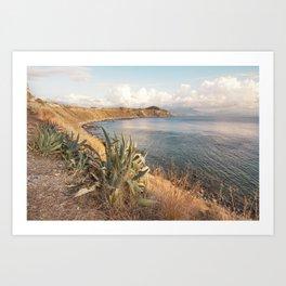 Paradise of Sicily Art Print