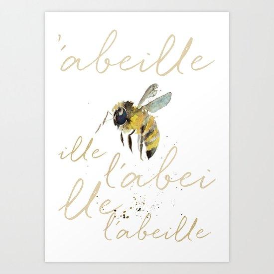 l'abeille  by craftberrybush
