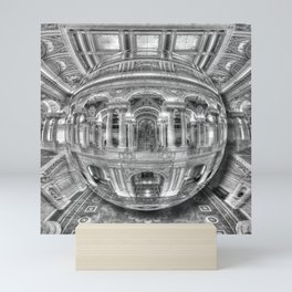 Ode To MC Escher Library of Congress Orb Mini Art Print