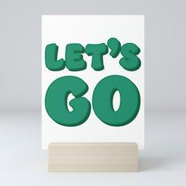 Let's Go Mini Art Print