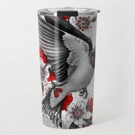 swallows and sakuras Travel Mug