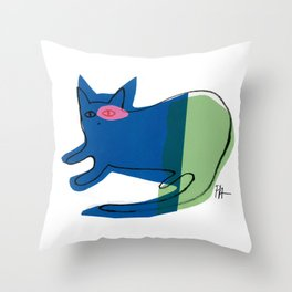 CAT CAT Throw Pillow