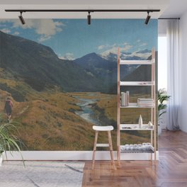 TAKE A HIKE Wall Mural