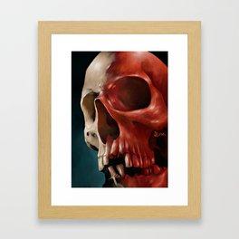 Skull 9 Framed Art Print