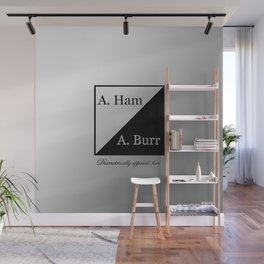A. Ham / A. Burr Wall Mural