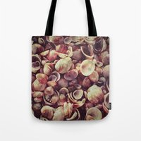 shells Tote Bags featuring Shells by HooVeHee