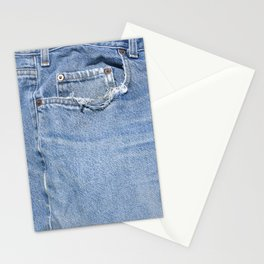 Old Jeans Stationery Cards
