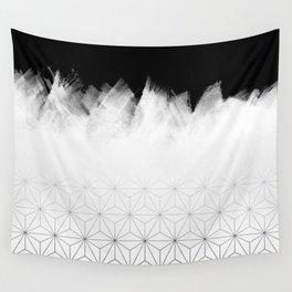Christmas Geometric Pattern Wall Tapestry