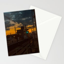Tokyo Nights / Sunset over Fuji / Liam Wong Stationery Cards