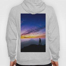 sunset hiker Hoody