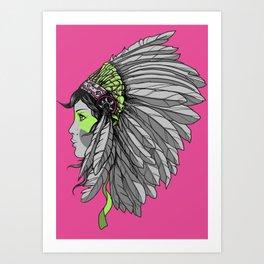 Warrior 3 Art Print