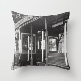 When in San Francisco Throw Pillow