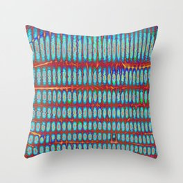 Fractory: Space Odyssey Series - Star Seeds Throw Pillow
